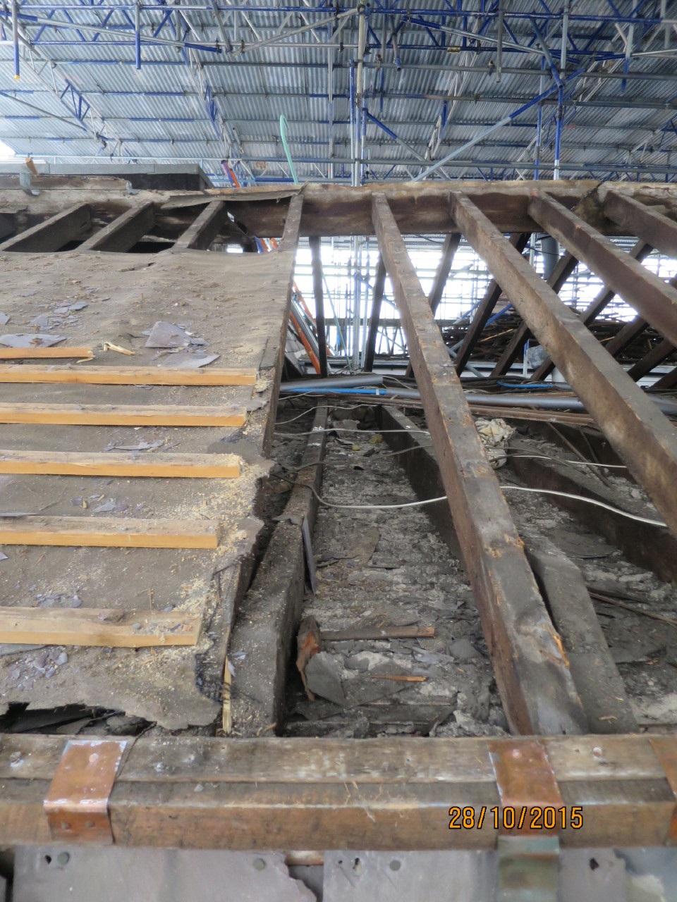 External repairs
